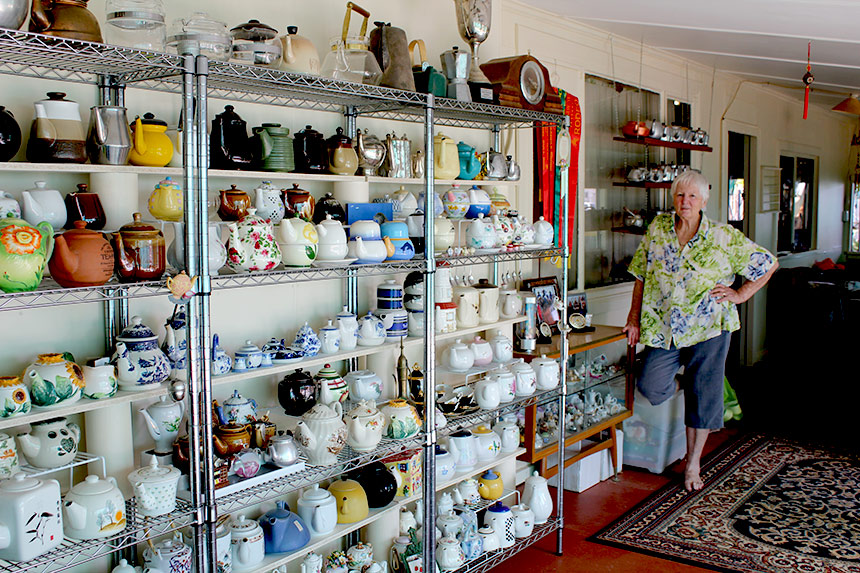 Kathys Teapot Collection